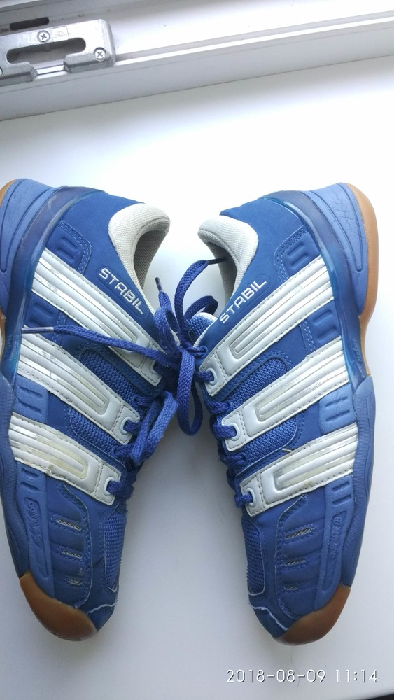 Кроссовки adidas stabil гандбол волейбол  фото №14