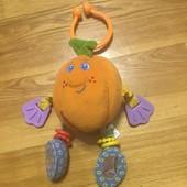 Детская развивающая игрушка апельсин