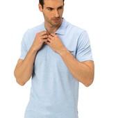 голубое мужское поло LC Waikiki с карманом