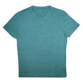 Мужская футболка зеленая меланж Tu M