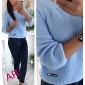 Мягенький свитер с ангорки
