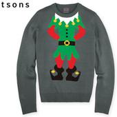 Мужской пуловер свитер р.L 52-54 Watsons Германия Рождество Новый год