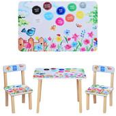 Детский столик со стульчиками Bambi 501-38