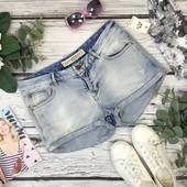 Лёгкие джинсовые шорты с низкой посадкой из молодежной серии PN1834004