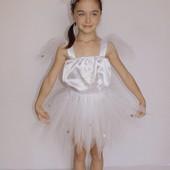 Детский карнавальный костюм для девочки Снежинка 3
