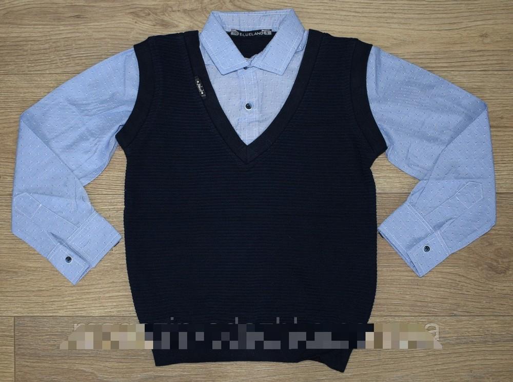 Рубашка-обманка качество супер фото №1