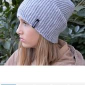 Стильная шапка на флисе- супер модель!