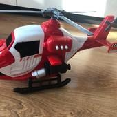 Игрушка красный вертолет для мальчика