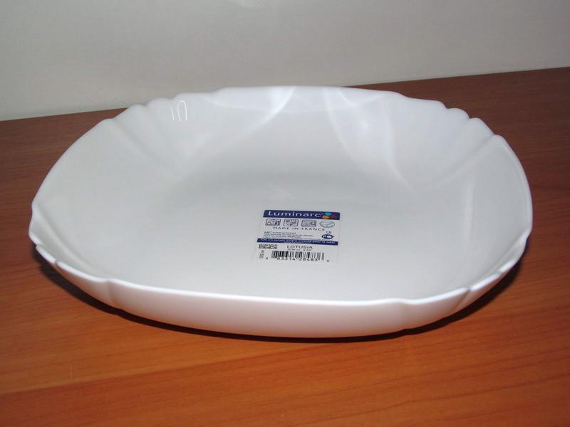 Тарелка глубокая суповая lotusia luminarc фото №1