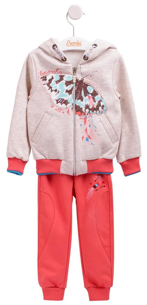 Бемби, теплый спортивный костюм бабочка кс559 фото №1