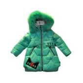 Пальто для девочки KIKO зима 4977B