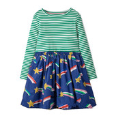 Платье для девочки с длинным рукавом. Камета. Jumping Meters
