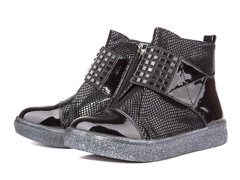 Демисезонные ботинки для девочки фото №1