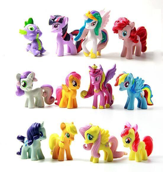 Набор фигурок май литл пони ( my little pony ) новые 12 штук !!! фото №1