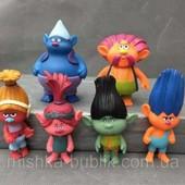 Набор игрушки Тролли ( Trolls ), розочка , Цветан