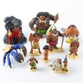 Игровой набор Моана / Moana Figure Play Set, 10 штук