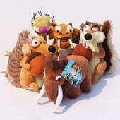 Мягкие игрушки с Ледникового Периода