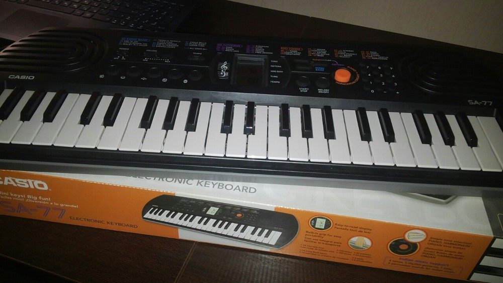 Продам синтезатор casio sa-77 фото №1