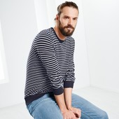 Стильный джемпер пуловер XL 56-58 евро Тсм Tchibo Германия.