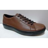 Полуспортивные мужские туфли ecco 43, 46 размер