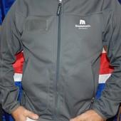 Стильная фирменная термо курточка реглан бренд Descente.м .