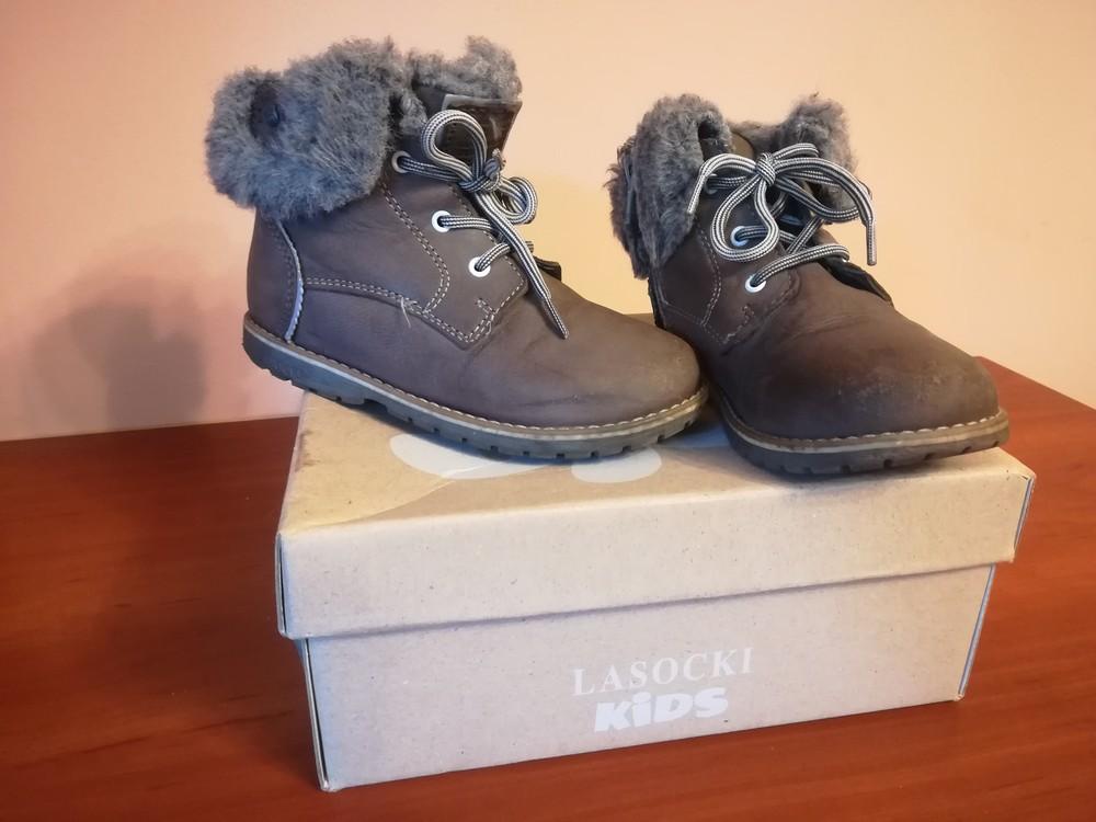 Шкіряні чобітки зимові для дівчинки фото №1 b08eb7f0f6634