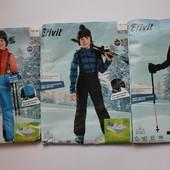 Зимние лыжные штаны  полукомбинезон для мальчиков Crivit, Германия.