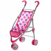 Прогулочная коляска для кукол 9628