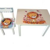 Детский столик и стульчик BS0182 Лев