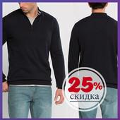 черный мужской свитер LC Waikiki / ЛС Вайкики с молнией на груди