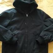 Очень тёплая и плотная куртка Zara р.48 L