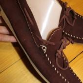 42 разм. Фирменные мокасины Zara. Оригинал длина по внутренней стельке- 27,5 см. ширина подошвы - 9