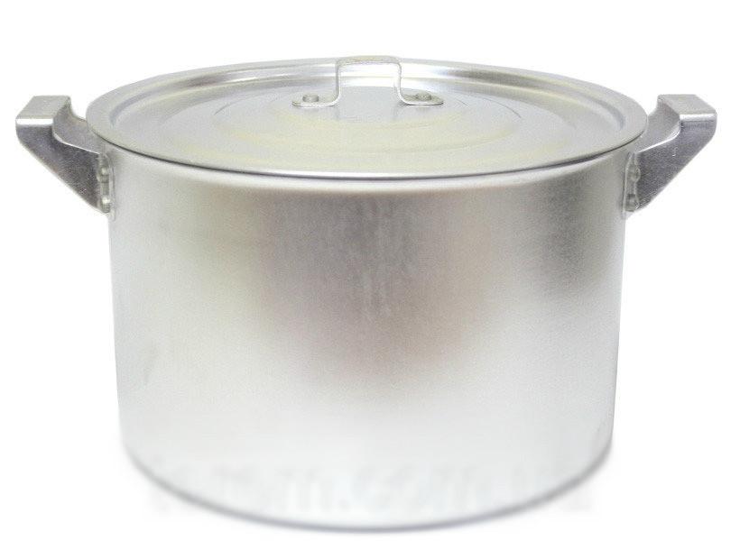 Кастрюля алюминиевая цилиндрическая 8л китай-алюминий фото №1