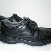 Кожаные ботинки,туфли Clarks, 42-43р,стелька28см, отличное состояние