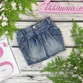 Джинсовая юбка для девочки  KI1838148