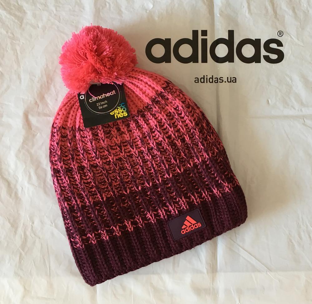 Новая теплая шапка adidas performance фото №1