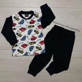 Пижама для мальчиков, размеры 3-8 лет. Турция.