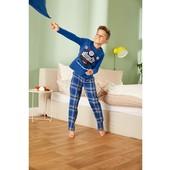 Пижама трикотаж-байка, хлопок, 134-140,146-152, Pepperts, Германия