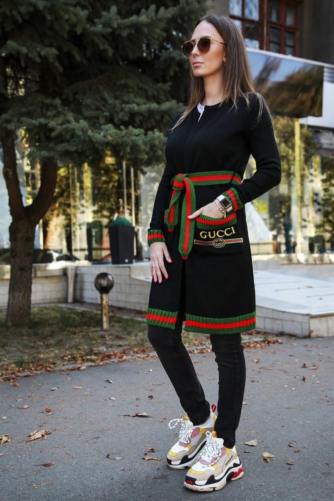 Женский стильный кардиган фото №1