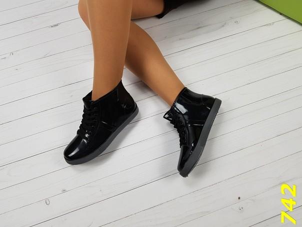 37-38 размеры резиновые ботинки непромокаемые модельные фото №1