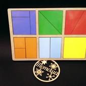 Игрушка по методике Никитиных - Сложи квадрат 1 уровень