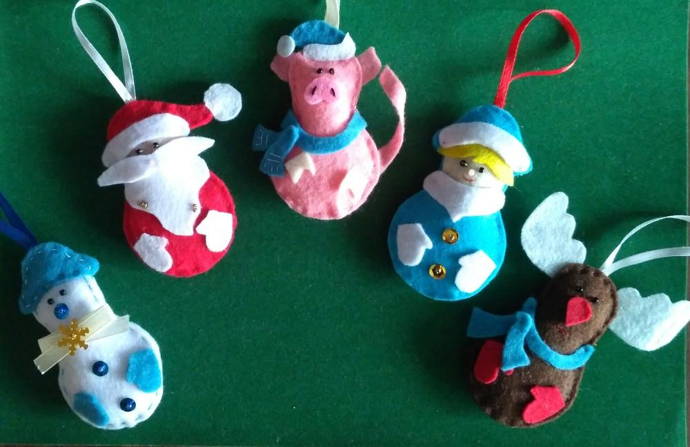 Рождественская игрушка фото №1