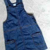 Классный джинсовый сарафан от F&F kids на 11-12лет и дольше.