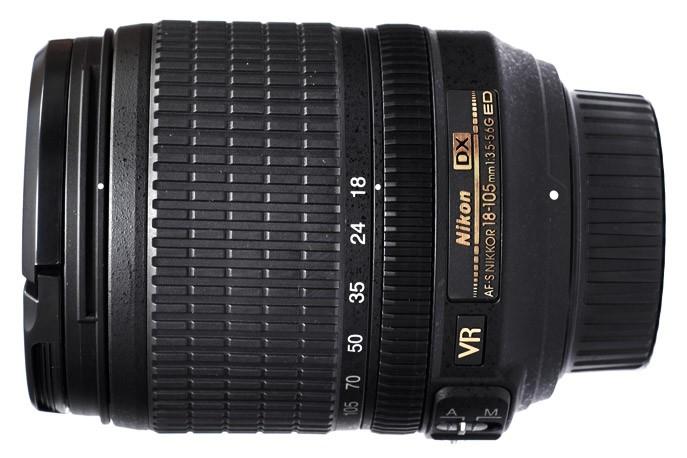 Nikon 18-105mm 13. 5-5. 6g ed nikkor vr af-s фото №1