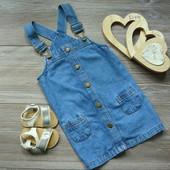 Сарафан платье джинс M&S (12-18 мес)-
