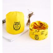 Детский комплект шапочка и шарфик-хомут, 3-7 лет, 3 цвета, новые