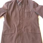Мужской коричневый пиджак от Victorinox оригинал р.44/54