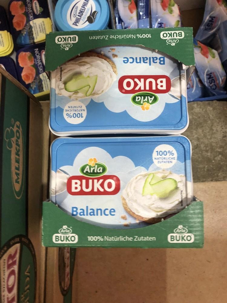 Нежный сливочный крем-сыр arla buko  фото №1