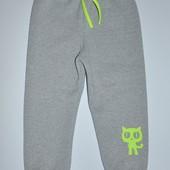 Последний размер по супер цене! Теплые детские штаны унисекс