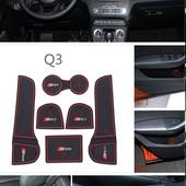 Audi Q3 Ауди Q3 коврики для ниш и карманов